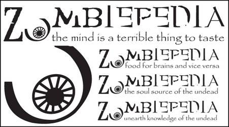 Zombiepedia Logo by splat