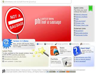 PatrickHaney.com 2.0 Final by splat