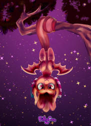FillyCon Freedom Bat by cosmocatcrafts