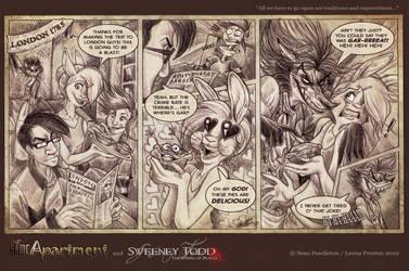 Same Apt Guest Comic by Leopreston
