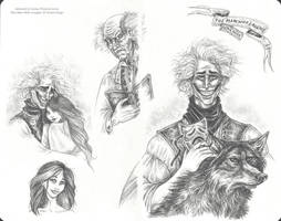 The Man Who Laughs Sketches by Leopreston