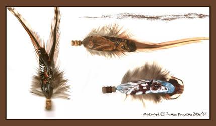 Batch of Mini Feathers by Leopreston