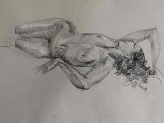 Boceto Femenino 4 by MiriamPerez