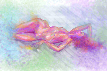 Fem nude by MiriamPerez