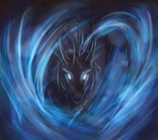 Blue Dragon by Ilada-Jefiv