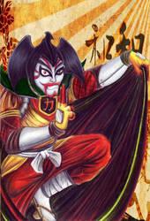Sgt. Kabukiman  N.Y.P.D. by Giosuke