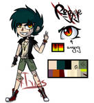 [OC] Regge official ref by xTriss