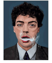 Tim Curry by Art Kane by tonelokeart