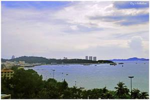 Pattaya Beach, Thailand by RoyWicaksono