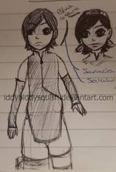 Fanart: Sarada Uchiha by IddyBiddySquish