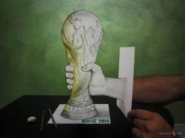 World Cup Drawn by AlessandroDIDDI