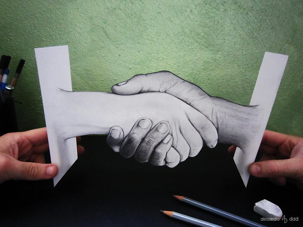 Two hands by AlessandroDIDDI