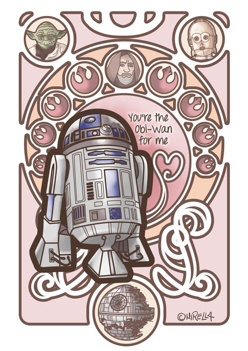 You are the Obi-Wan for me by Mirella-Gabriele