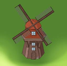 Mill by Mirella-Gabriele