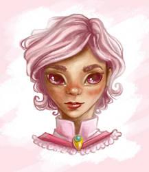 Rosa girl by Mirella-Gabriele