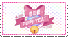 Bee and Puppycat Stamp by znho
