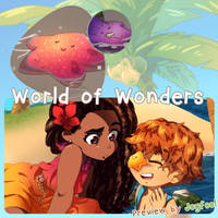 Preview: World of Wonders Charity Artbook by Joyfool