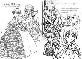 Character sheet. Kairy by Joyfool