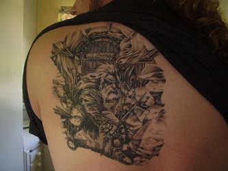 Dwarf tattoo by Minetroll