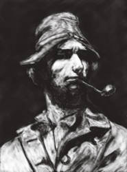 Portrait study by Penoplastic