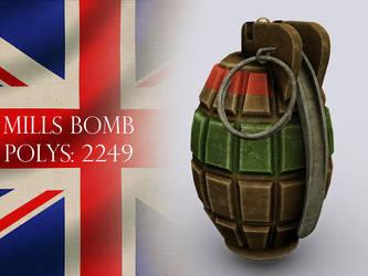 British Mills Bomb - Grenade by VonBrrr