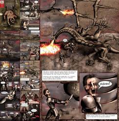 Mythological Themed Comic by VonBrrr