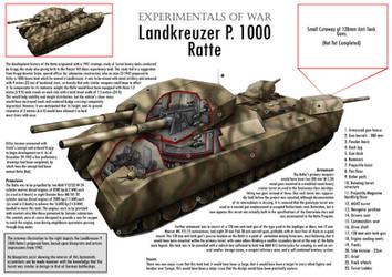 P. 1000 Ratte Tank Cutaway by VonBrrr