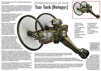 WW1 Tsar Tank - Cutaway by VonBrrr