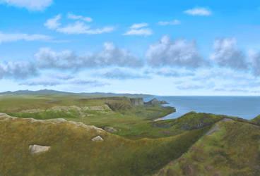 Coastal Highland Plains by VonBrrr