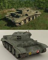 Cromwell Mk.IV by VonBrrr