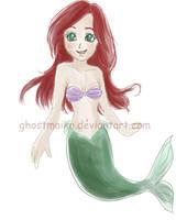 Little mermaid by ghostmaiko