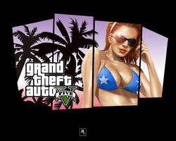 GTA V - Wallpaper by Speetix