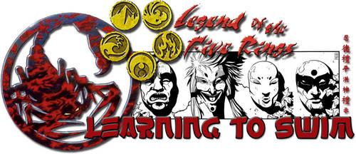 Learning to Swim Logo by sonicchaoszero
