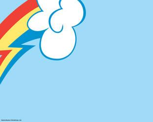 Rainbow Dash wallpaper by sonicchaoszero