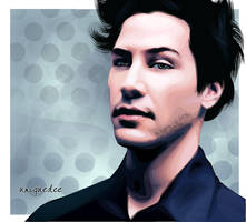 Keanu Reeves by Uniquedee