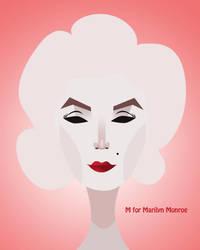 Marilyn Monroe by Uniquedee