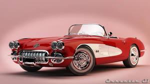 1960 Chevrolet Corvette C1 by nancorocks