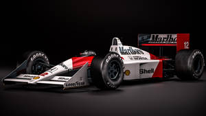 Mclaren Honda MP4/4 -  Ayrton Senna by nancorocks