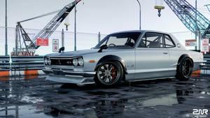 Nissan Skyline 2000GT-R by nancorocks
