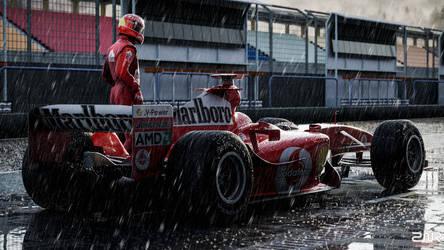 Ferrari F2004 - Michael Schumacher by nancorocks