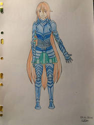 Just practicing armor and fullbody by MadokaSuigito