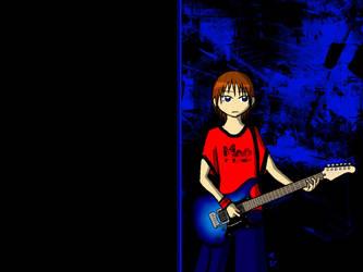 guitar by lostchibi
