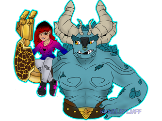 TrollHunters: Show Off by BunZleFlufF