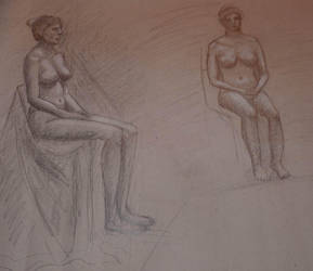 Life drawing 3 by jablar