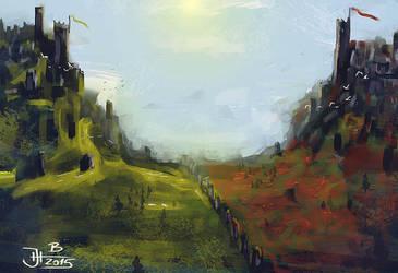 Two kingdoms by jablar