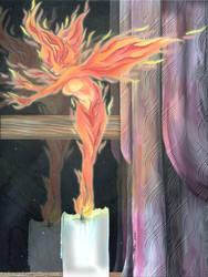 Fire Sprite by SpiritOnParole