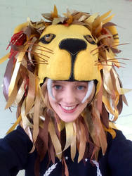 52bf5e0a440 Luna Lovegood s Lion Hat by LaurenIsACrazyLlama on DeviantArt