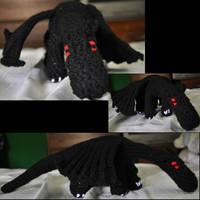 Little Black Dragon by Rayvenstar