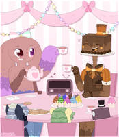 Tea Party~ (digital version) by Carol2015