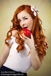 TRUE PIN UP GIRLS - Red Head 8 by Rosier-du-mal